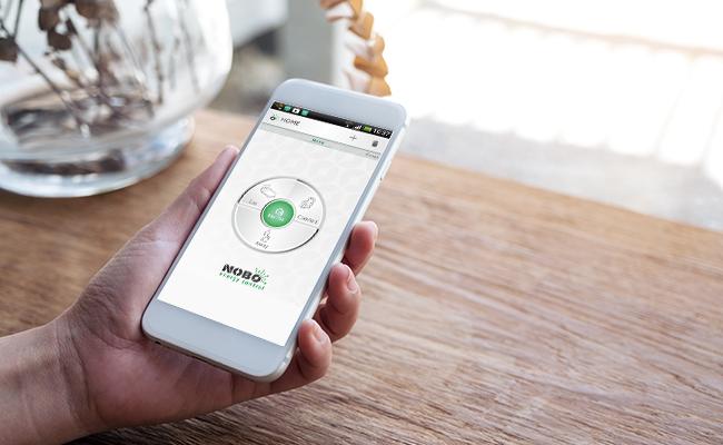 Fjärrstyr värmen i fritidshuset med appen Nobø Energy Control